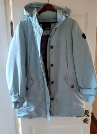 Куртка тёплая пуховик  street one ( германия) р. 50-52