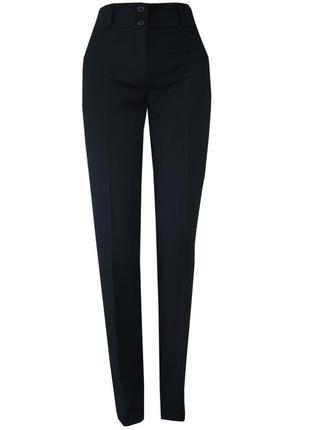 Класичні чорні завужені брюки від next 38p.для стрункоі дівчини