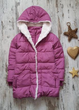 Теплая зимняя куртка пальто новая