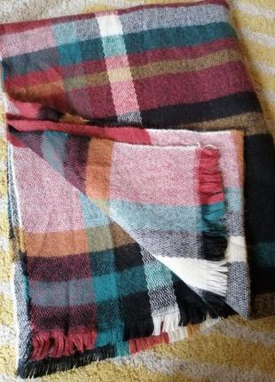 Тёплый шарф - палантин bershka