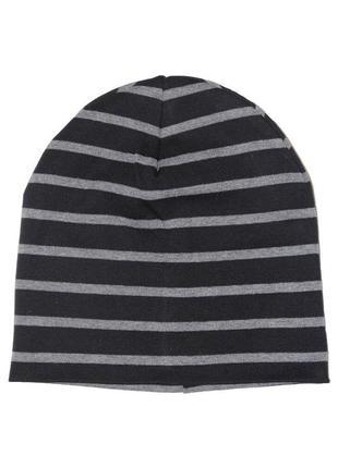 Трикотажная шапка в полоску для мальчика, h&m, 0694744003