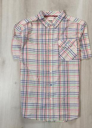 Шведка ben sherman мужская рубашка в клетку клетчатая
