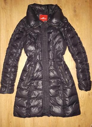 Пуховое пальто пуховик зимний