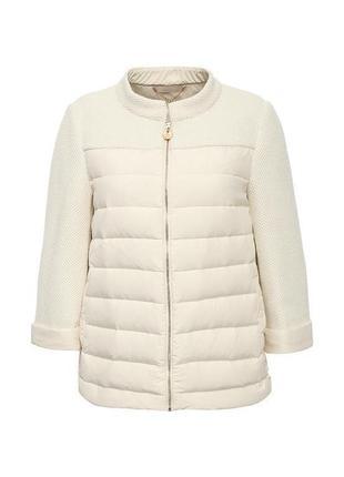 Фирменная шикарная куртка курточка пуховик liu jo деми натуральный пух р. м оригинал
