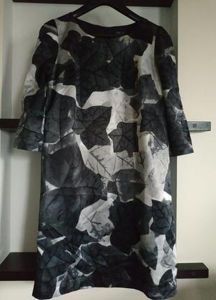 Платье incity в листья