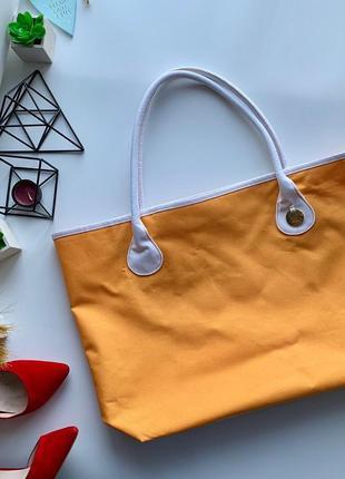 👜фантастическая пляжная сумка/оранжевая сумка на пляж/виестильная пляжная сумка👜
