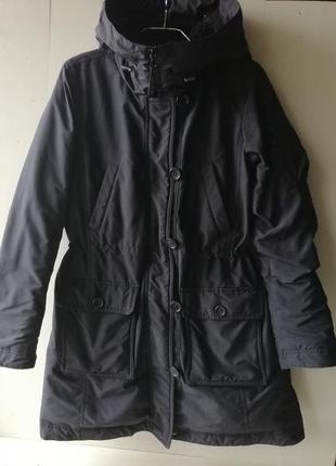 Uniqlo зимняя куртка, пуховая парка. пуховик