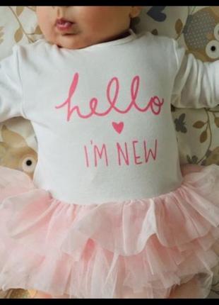 Платье на малышку 3-6 месяцеа