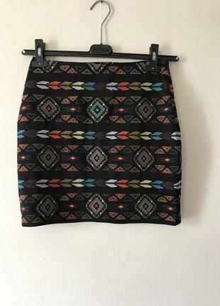 Arc&co мини- юбка с вышивкой