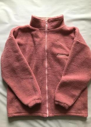 Теплющая флисовая кофта толстовка, куртка, shinning. l