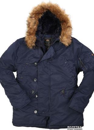 Куртка аляска alpha n3b парка оригинал