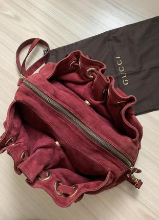 Замшевая сумка fellini