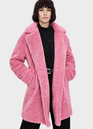 Шуба пальто bershka