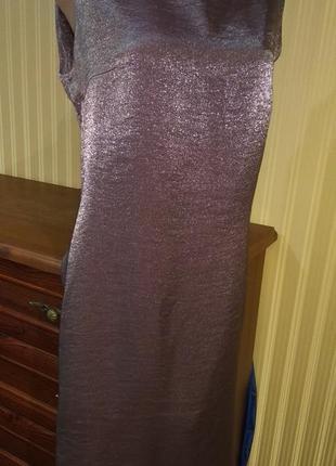 Блестящее платье лавандового цвета италия