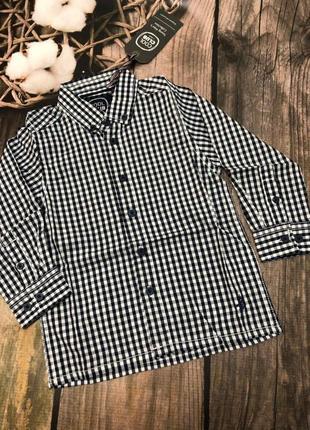 Крутая рубашка для мальчика 92 см cool club оригинал