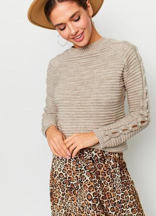 Универсальный трикотажный свитер / sale