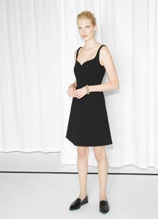 Мега красивое платье other stories маленькое чёрное платье