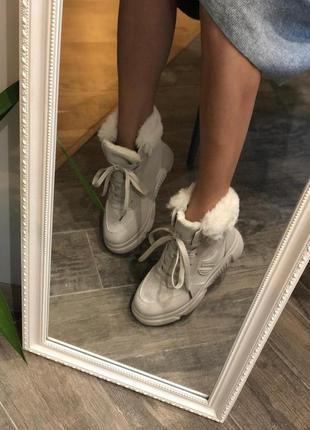 Невероятные зимние ботинки/в наличии/наложка