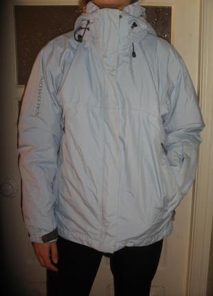 Женская спортивная лыжная куртка salomon x-static insulation