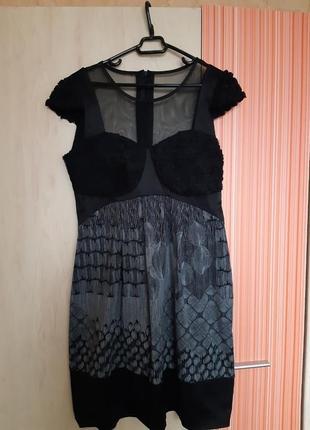 Платье в талии свободное. турция р.44 (s-m). можно беременным.
