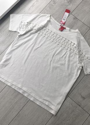 Блуза футболка натуральная хлопок