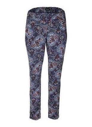 Мягкие брюки вискоза с этно принтом, в стиле casual,tchibo(германия)