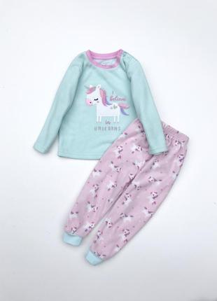 Пижама для девочки ,с ендинорого
