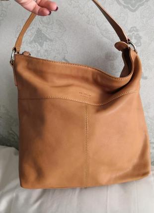 Мега стильная кожаная сумка в стиле хоббо osprey, лондон👜🦋🍂🔥
