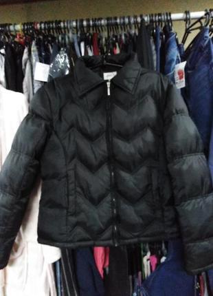 Укороченная тёплая курточка