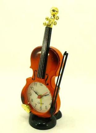 Настольные часы скрипка
