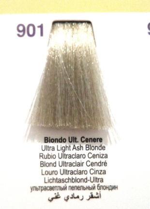 Итальянская краска для волос nouvelle 901 суперосветляющая серия