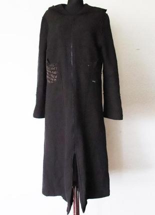 Пальто из валяной шерсти planète interdite