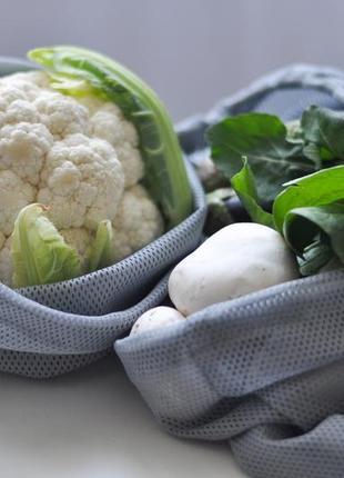Еко мішечки фруктовки з сітки набір мішечків  торбинки  эко мешочки набор мешочков