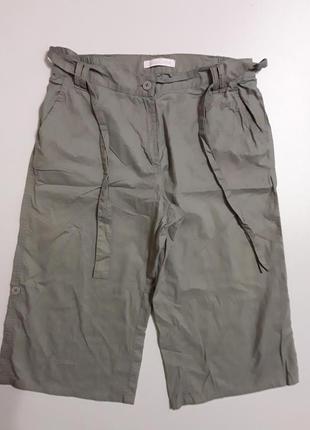 Фирменный легкие хлопковые шорты бриджи