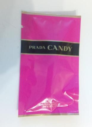 Prada candy пробник парфюма