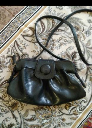 Кожаная сумочка сумка