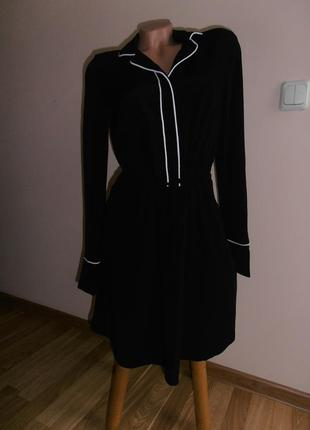 Идеальное черное платье  allsaints