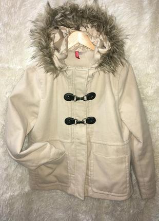 Куртка кашемировая h&m