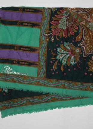 Шарф палантин blumarine шелк с шерстью недорого скидка распродажа