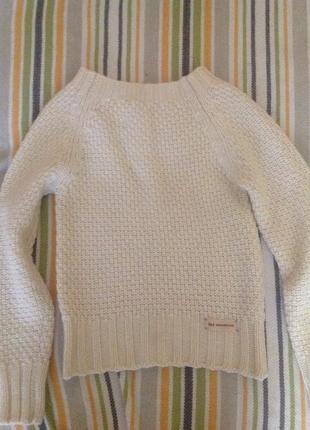 Теплый свитер gas
