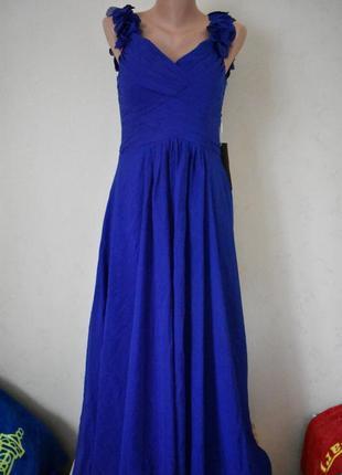 Шикарное нарядное новое платье