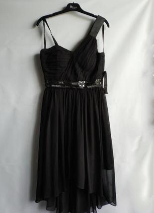 Женское вечернее платье немецкого бренда vera mont, xs, сток европа