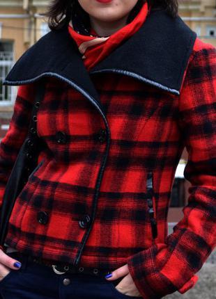 Куртка пиджак stradivarius шерсть