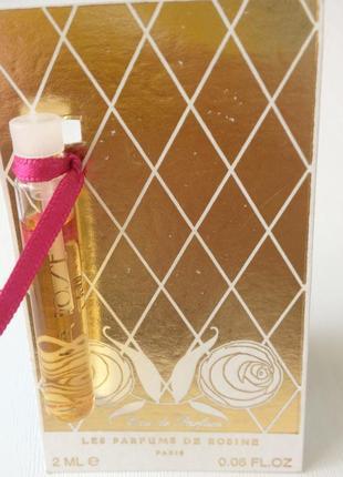 Парфюмированная вода parfums de rosine la rose de rosine, пробник (2 мл)