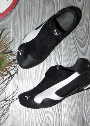 Замшевые кроссовки / кеды puma, оригинал