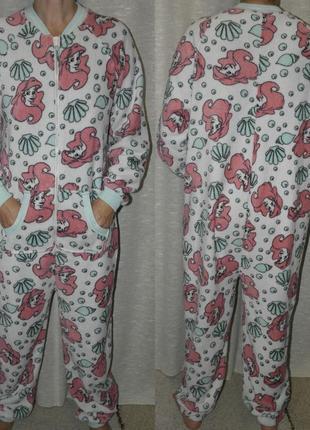 Русалочка love to lounge слип кигуруми пижама костюм домашний