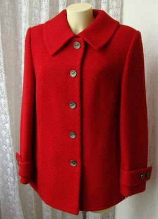 Пальто демисезонное шерсть качество! р.48 №7324