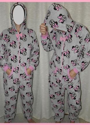 Мини маус love to lounge disney слип кигуруми пижама костюм домашний