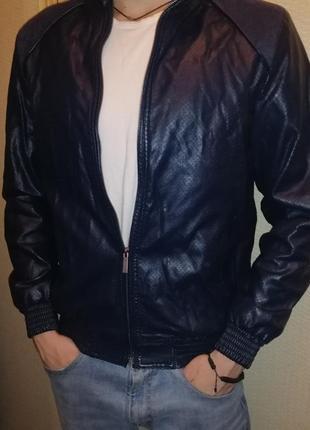 Куртка кожа/замша