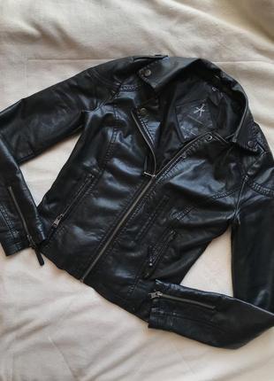 Кожаная куртка atmosphere